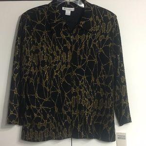 📣$5.00 TOPS Sale📣 Dress Barn zip-up jacket
